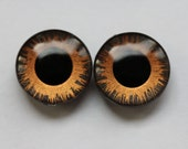 Hand painted eye chips for Blythe by mariuka - cooper