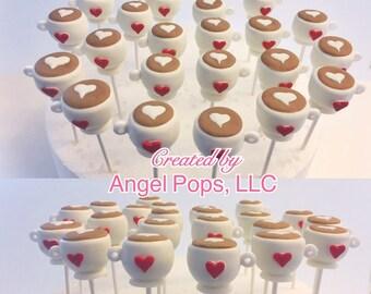 Coffee cake pops