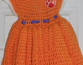 Clemson Baby dress
