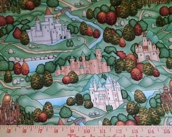 Enchanted Kingdom by RJR fabric- Cotton Woven- 1 yard
