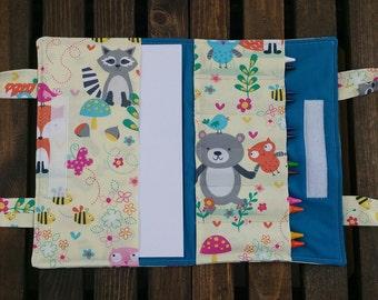 Wilderness Animals Crayon Book