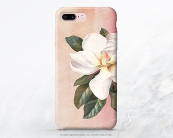 iPhone X Case iPhone 8 Case iPhone 7 Case Magnolia iPhone 7 Plus Case iPhone 6s Case iPhone SE Case Galaxy S7 Case Galaxy S8 Case I109