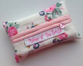 "Cath Kidston ""Briar Rose"" Mother of the Bride Tissue Holder -Pocket Sized Travel"