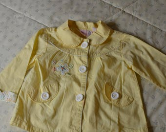 Spring Jacket for a Little Girl  Size 12-18  Months by Baby Q