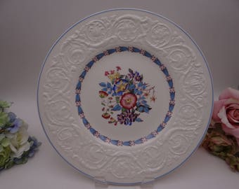 Vintage Wedgwood Morning Glory Dinner Plate