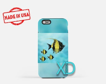 Artistic Fish iPhone Case, Artistic iPhone Case, Art Fish iPhone 8 Case, iPhone 6s Case, iPhone 7 Case, Phone Case, iPhone X Case, SE Case