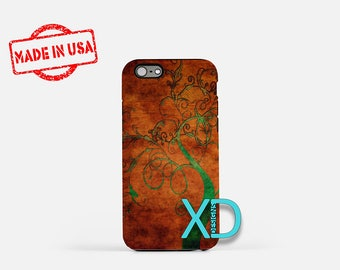 Sprouting Tree iPhone Case, Tree Art iPhone Case, Tree iPhone 8 Case, iPhone 6s Case, iPhone 7 Case, Phone Case, iPhone X Case, SE Case