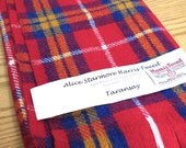 "Alice Starmore Harris Tweed Wool Fabric ""Taransay"" Hand Woven in the Outer Hebrides 29 x 72"