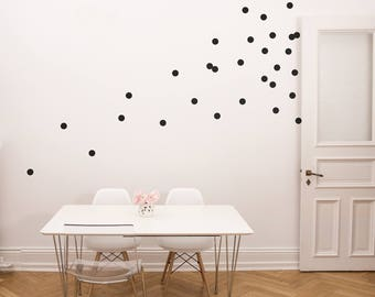 Wall Sticker Large Dots in a Set of 48