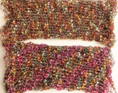 Decorative scarf, scarf necklace, knit cowl, knitted necklace