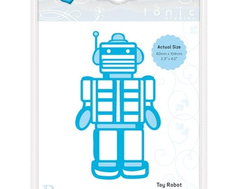 Rococo by Tonic Studios Craft Die  Toy Robot