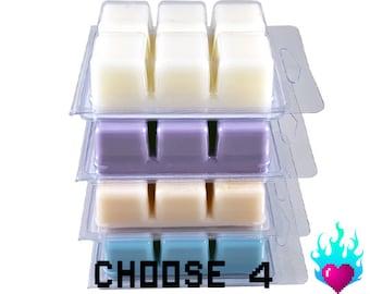 Wax Tart Melts - Choose 4