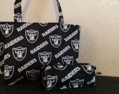 Oakland raiders bag