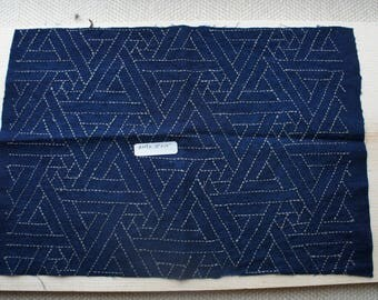 Sashiko Fabric / Japanese Vintage Fabric #009 Popular Sashiko Fabric