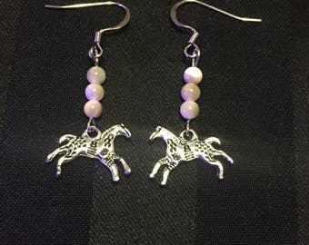Painted Pony Earrings