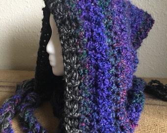 GALAXY Deep Purple Elf Hood