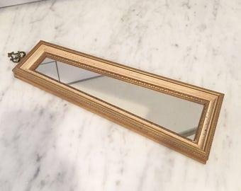 Florentine Mirror, Gold Florentine Decor, Vintage Florentine, Gold Mirror, Vintage Mirror, Gallery Wall,