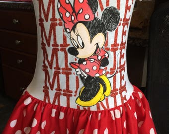 Minnie Mouse Play dress size 4/5 only