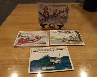 Fishing Laughin Place Post Cards
