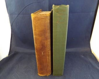 Two Vintage Antique Books Bar 20 Day and Forever Amber