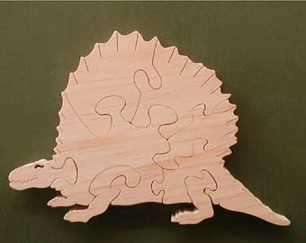 Dimetrodon Wood Puzzle Cut On Scroll Saw Woodworking