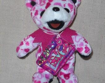 LiL Love Liquid Blue Bear Cub Grateful Dead Beanie Bear Cub