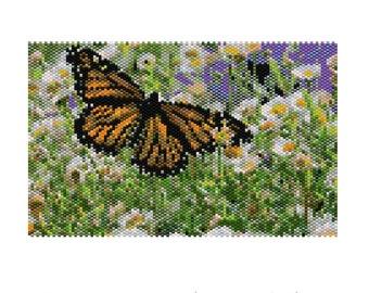 Daisy Field Peyote Tapestry