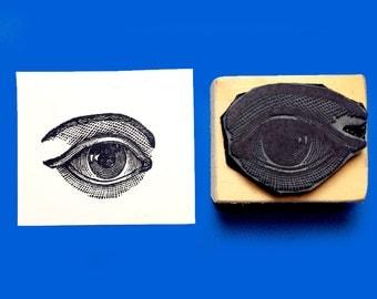 Eye Rubber Stamp