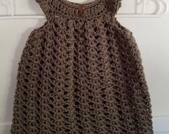 Girl's Crochet Dress (18 months)