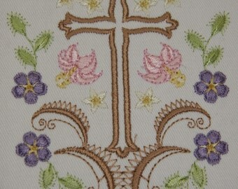 KUHL062 Victorian Floral Holidays - Easter Enchantment Machine Embroidery Design