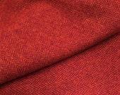 """Fat Eighth - Wool Fabric - """"My Funny Valentine"""" - 100% Wool - 16"""" x 12"""""""