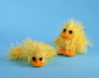 """Duck """"Platsch"""" crochet pattern"""