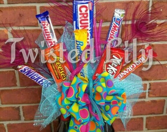Dr Pepper & Candy Bouquet teen gift / birthday