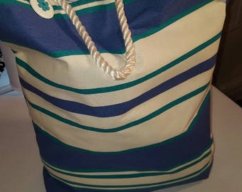 Beach Bag-Beach Tote-XL Tote-Rope Bag- Bath Tote