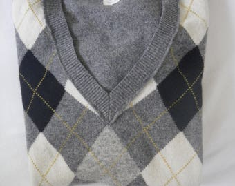 J. Crew Argyle Sweater