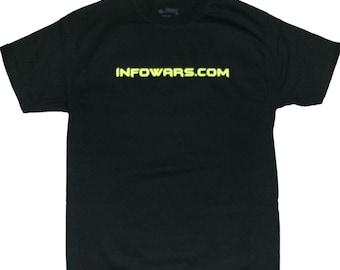 Infowars Legalize Freedom T-shirt in Black