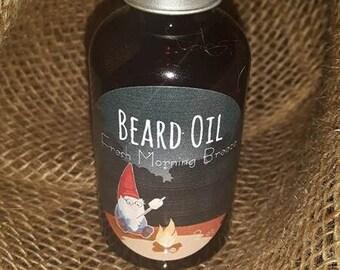 Beard Oil: Fresh Morning Breaze