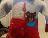 síochánta sweater - size 4-5 yrs old.. reserved for Jennifer