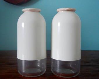 Tupperware Salt & Pepper Shakers