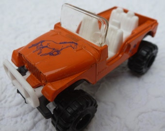 Corgi toy model gift for him birthday 80s present for kids vintage model toy memorabilia car jeep die cast car collectors birthday jeep car.