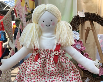 Rag doll in traditional style