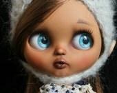 RESERVED.Magali. OOAK Custom Blythe doll.