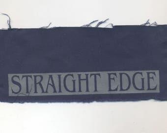 Straight Edge Patch