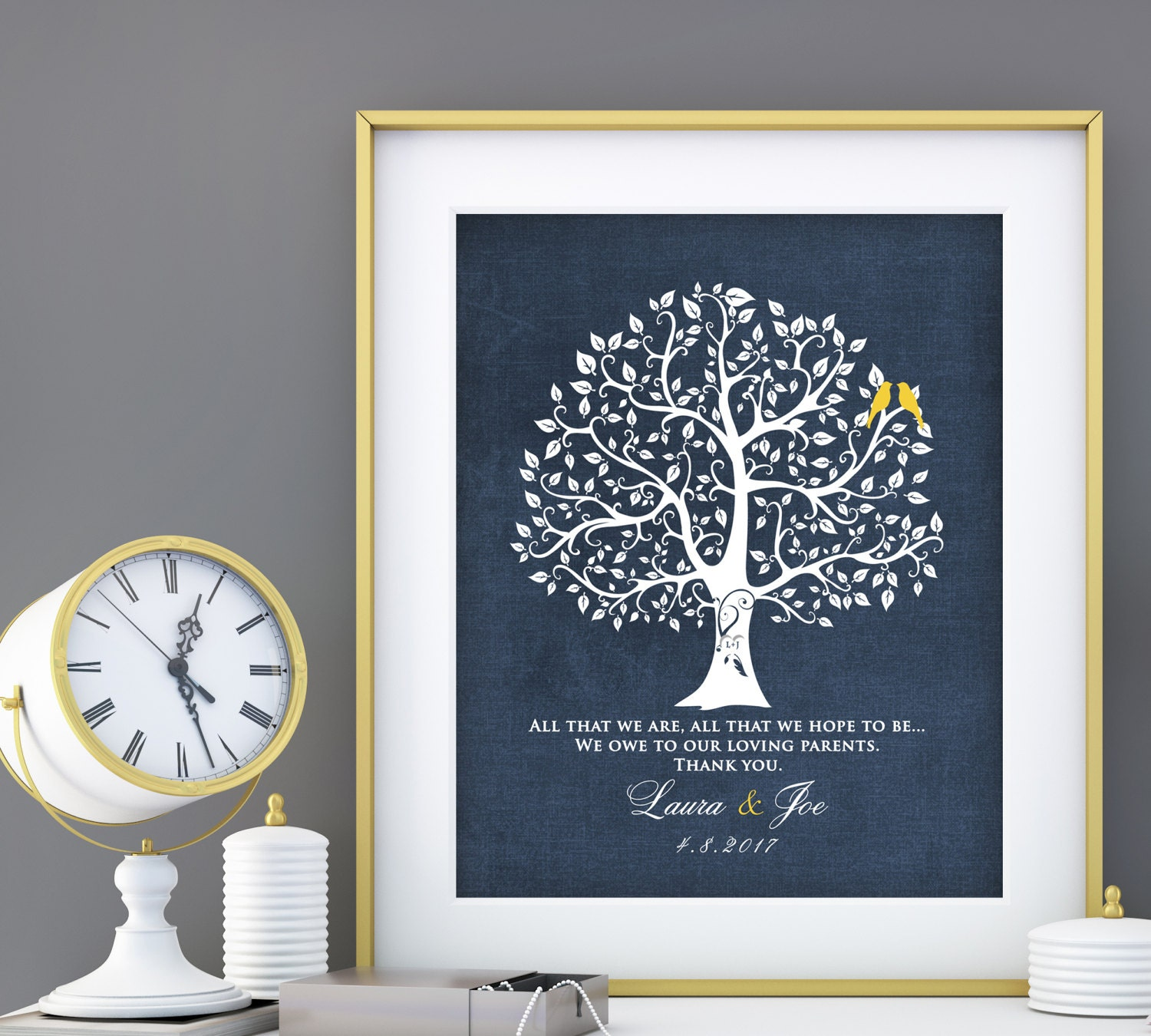 Wedding Gift For Parents Mother Of The Bride