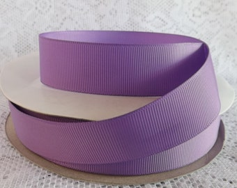 Purple ribbon 1 inch purple grosgrain ribbon lilac polyester 1 inch  ribbon