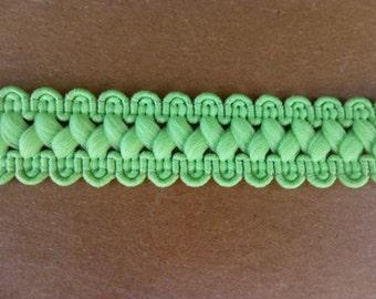 Bright Green Polyester Trim