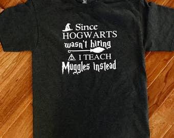 Muggle Teacher T-Shirt