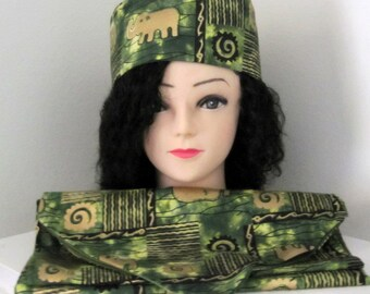 afrocentric stoles and headband sets