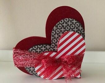 Valentine Stackonf Heart Trio