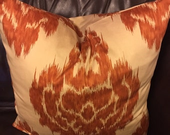 20in ikat pillow cover